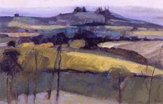 Wittenham Clumps from Swyncombe, Oxfordshire