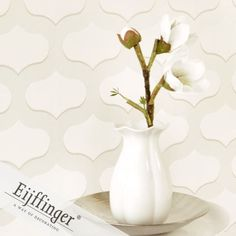 Eijffinger wallpaper, Chic Collection. On SALE $399.00.  Wallpapershop / Murrays Interiors