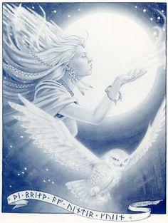 Pagan Winter Solstice Symbols   The Winter Goddess