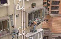 Sicurezza sul lavoro - Tra il divertente e la follia (55 Foto) | Bonkaday.com
