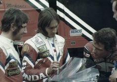 3 legends Joey, Ron & Barry 82 Motorcycle Racers, Racing Motorcycles, Brothers In Arms, Fastest Man, Famous Stars, Old Bikes, Isle Of Man, Road Racing, World Championship