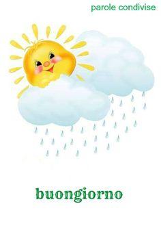 Quando  una nuvola leggera strizza l'occhio al sole e divertiti si rincorrono nel cielo, non puoi sbagliare: è primavera.