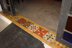 piso de cimento queimado com rodapé de ladrilho hidráulico - Pesquisa Google