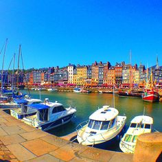 Honfleur, Normandy, France.