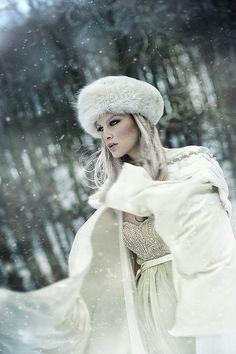 Fur hat.Winter