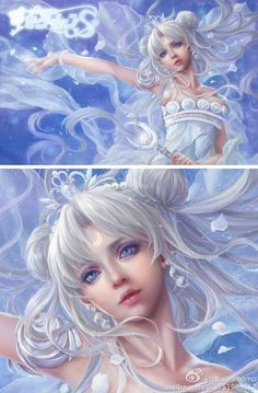 Chinese graphic artist creates stunningly beautiful Sailor Moon fan art | Princess serenity ♡_♡
