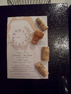 Wine cork magnets- so cute!