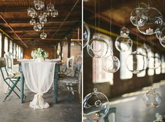 Neutral Wedding Inspiration in a Glass Factory | Green Wedding Shoes Wedding Blog | Wedding Trends for Stylish + Creative Brides
