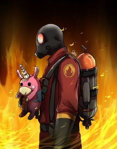 TF2-Pyro by DeluCat on DeviantArt