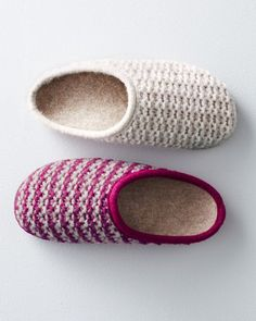 #Crochet Slippers from Garnet HIll