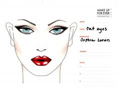 #Cat Eyes #Sophia Loren #makeup