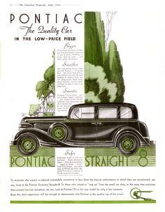 1934 Pontiac Ad