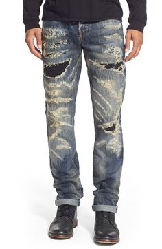 PRPS 'Demon - Eriko' Slim Straight Leg Jeans (Enzyme) available at #Nordstrom