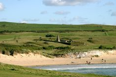 The 12th century St Enodoc's church was submerged in sand until the mid 19th century, although apparently the spire stuck out of the dunes. ...