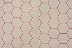 coral honeycomb fabric