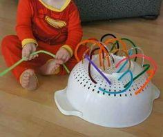 Sensory Activities, Activities For Kids, Baby Games, Baby Play, Kids Education, Crafts, Food, Montessori, School