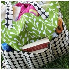 Large Pottery Barn-inspired Tote (with tutorial)