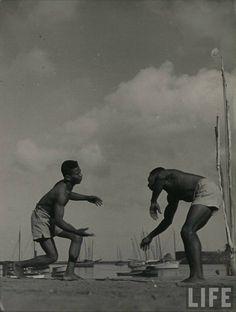 vadiando na beira do mar #capoeira