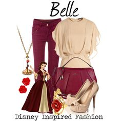 """Belle - from Disney's Beauty and the Beast"" by elliekayba on Polyvore"