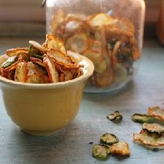 Sea salt and pepper vegetable chips #HealthyAperture