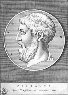 From Wikiwand: Pittakos van Mytilene