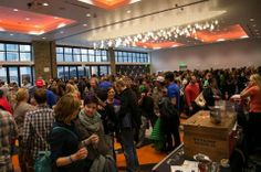 Crowd enjoying more than 40 collab brews at Collaboration Fest (Photo © Imbibe)