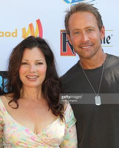 Actress Fran Drescher and writer Peter Marc Jacobson attend GLAAD's... Photo d'actualité | Getty Images