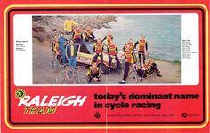Team photo 1974, in a Brittish magazine.
