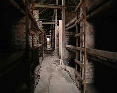Auschwitz barracks.
