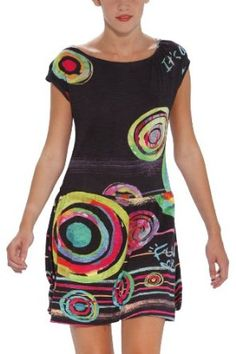 Desigual Vest Asun Dress,$99.00 [][ NO LONGER IN CATALOG ][]