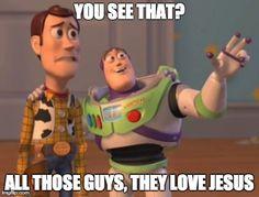 Christian girls at summer camp be like... #ProjectInspired #ChristianHumor #Lol