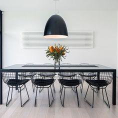 Black Wire Dyson #Chair | https://brickellcollection.com/product/black-wire-dyson-chair/