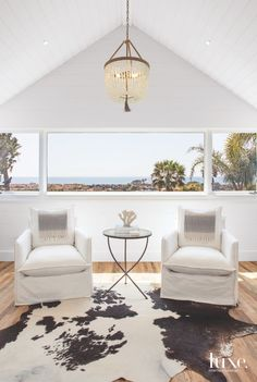 Beach Glass Chandelier in Solana Beach Master Bedroom f69ad32b40