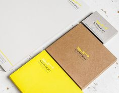 Business stationery for an Austrian photographer by the name of Lumikki. Hotfoil stamping with pigmented foil