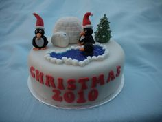 Christmas Cakes - Daisy & Boots (Daisy) 001 by Cakes By Ade (from Ade's Piccies), via Flickr