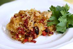 Roasted Spaghetti Squash Casserole