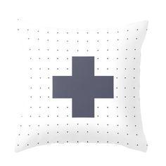 Nordic Dotty Cross Cushions www.cloudninecreative.co.nz