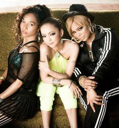 """TLC feat. Namie Amuro (""""Waterfalles"""" as a rapper). TLC also appears in Namie's new MV """"Hands On"""". Both TLC and Namie are celebrating their 20th anniversary this year, and they reunited for the first time in 10 years!"""