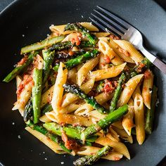 Craig Claiborne's Pasta con Asparagi recipe on Food52