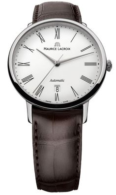 @mauricelacroix Watch Les Classique Gents Date Tradition #bezel-fixed #bracelet-strap-alligator #brand-maurice-lacroix #case-material-steel #case-width-38mm #date-yes #delivery-timescale-call-us #dial-colour-white #gender-mens #luxury #movement-automatic #official-stockist-for-maurice-lacroix-watches #packaging-maurice-lacroix-watch-packaging #sku-ml-719 #subcat-les-classiques #supplier-model-no-lc6067-ss001-110 #warranty-maurice-lacroix-official-2-year-guarantee #water-resistant-30m
