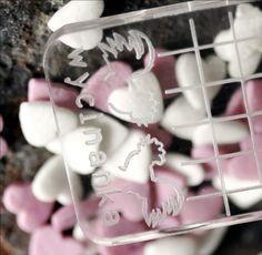 transparentny bloczek do mocowania stempli Icing, Scrapbooking, Canning, Desserts, Products, Tailgate Desserts, Deserts, Postres, Dessert