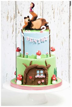 Taartjes-van-An-taart-nunspeet-bruidstaart-nunspeet-kindertaart-nunspeet-bruidstaart-elburg-bruidstaart-harderwijk-bruidstaart-zwolle-bruidstaart-apeldoorn-marsh and the bear cake