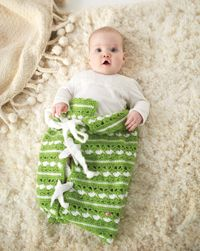 Bundle of Love Baby Bunting - A cute swaddler from Love of #Crochet magazine