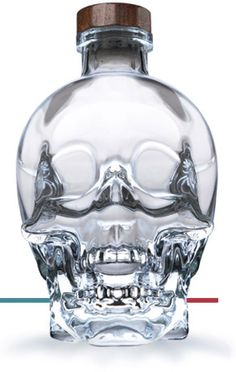 crystal head vodka, Husband bought this a few years ago. Still have the bottle haha