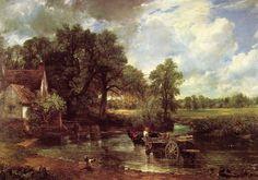 la charette de foin - John Constable  1819