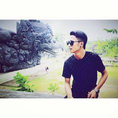 At Garuda Wisnu Kencana (Bali)