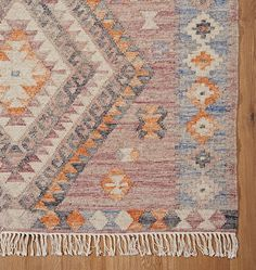 Beautiful in eclectic spaces as well as traditional room designs, our Skyline Rug combines a wool and cotton blend, rich color palette, and geometric diamond pattern for a timeless look that suits any room in the house.   * Hand-woven wool with tassels * Use of rug pad recommended * Place in dry, well ventilated area * Imported