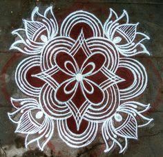 Easy Rangoli Patterns, Easy Rangoli Designs Diwali, Simple Rangoli Designs Images, Rangoli Designs Flower, Free Hand Rangoli Design, Rangoli Designs Latest, Rangoli Border Designs, Small Rangoli Design, Rangoli Designs With Dots
