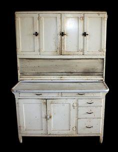 images about Hoosier Cabinets New Kitchen, Kitchen Dining, Kitchen Cabinets, Kitchen Ideas, Cupboards, Antique Hoosier Cabinet, Rustic Western Decor, Antique Furniture, Vintage Antiques