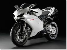 Darn right... it's a Ducatti. What a beauty!